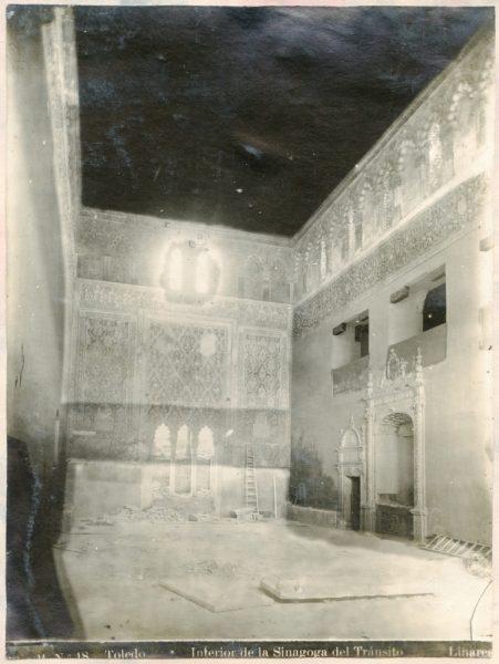 334 - Interior de la Sinagoga del Tránsito