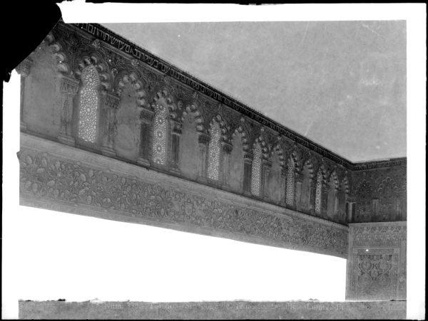 335 - Detalle del interior de la Sinagoga del Tránsito