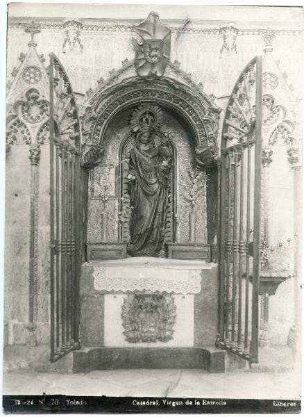 355 - Imagen de la Virgen de la Estrella en el Trascoro de la Catedral- Foto Linares