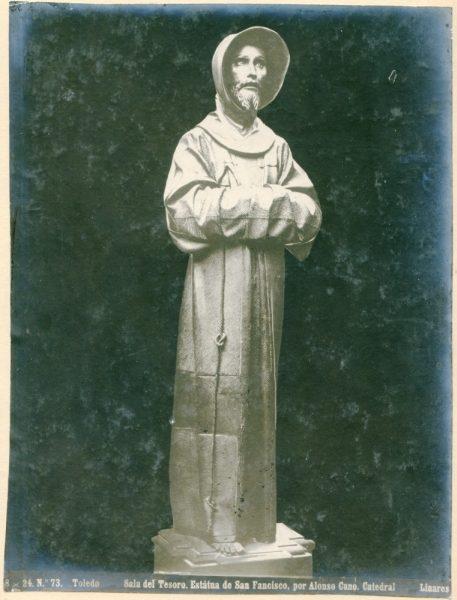 357 - Escultura de San Francisco en la Sala del Tesoro