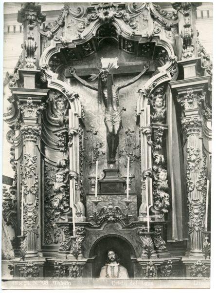 359 - Imagen del Cristo de las Aguas en la iglesia de la Magdalena