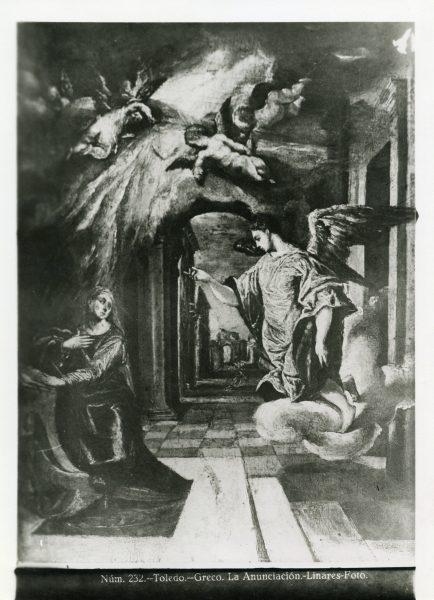 361 - Toledo Greco - La Anunciación