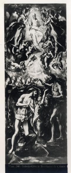 362 - Toledo - Greco - Bautismo de Cristo [Museo del Prado]