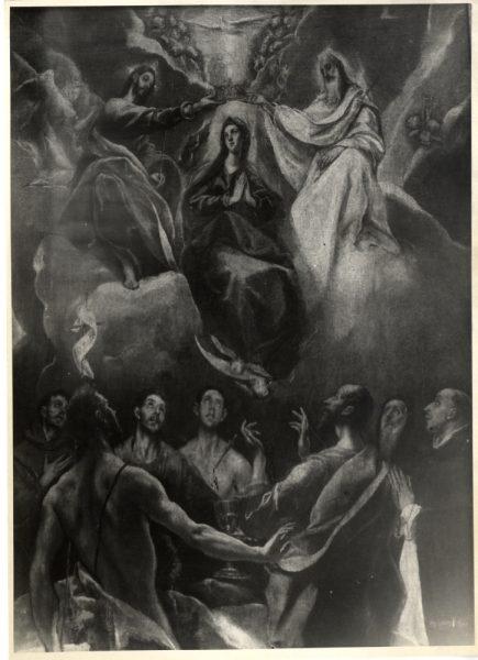 363 - [Greco - La Coronación de la Virgen, Monasterio de Guadalupe]
