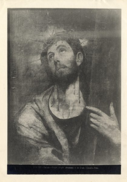 365 - Toledo - Greco - Cristo abrazado a la Cruz