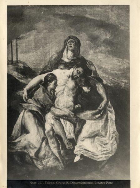 367 - Toledo - Greco - El Descendimiento [La Piedad, Hispanic Society of America]