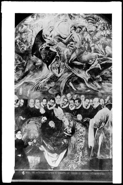 370 - Detalle del Entierro del Señor de Orgaz