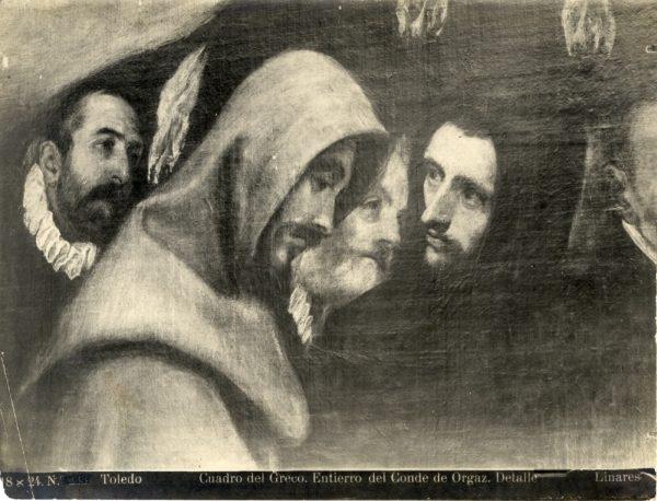 374 - Detalle del Entierro del Señor de Orgaz