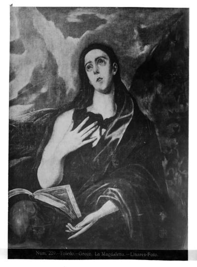 398 - Toledo - Greco - La Magdalena [La Magdalena penitente]