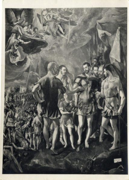 399 - [El martirio de San Mauricio y la Legión Tebana, Monasterio de El Escorial]