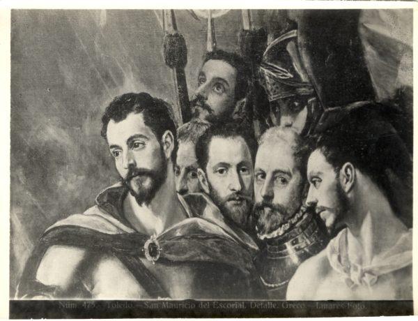 400 - Toledo - San Mauricio del Escorial - Detalle - Greco