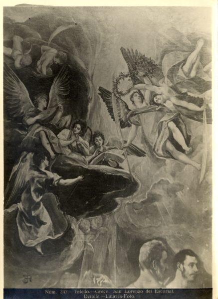 401 - Toledo - Greco - San Lorenzo del Escorial - Detalle [El martirio de San Mauricio y la Legión Tebana]