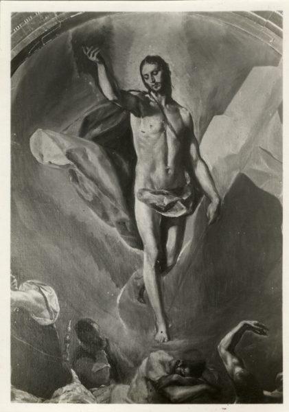 404 - [Toledo Greco - La Resurrección (Detalle), Convento de Santo Domingo el Antiguo]