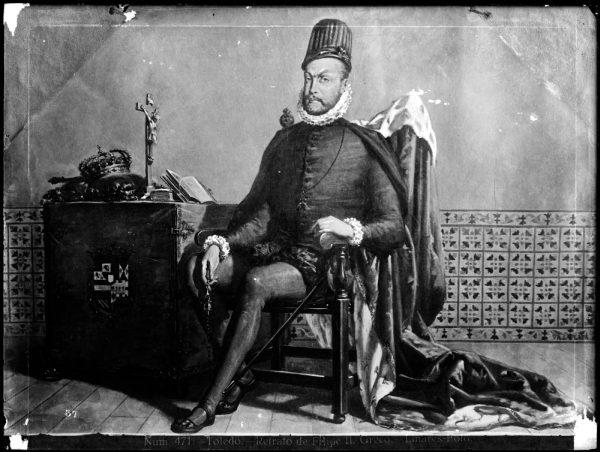 405 - Toledo - Retrato de Felipe II - Greco