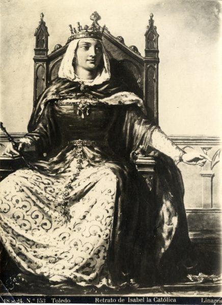 406 - Toledo - Retrato de Isabel la Católica