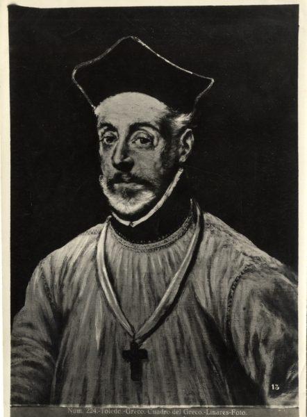 407 - Toledo - Greco - Cuadro del Greco [Diego de Covarruvias, Museo del Greco]-