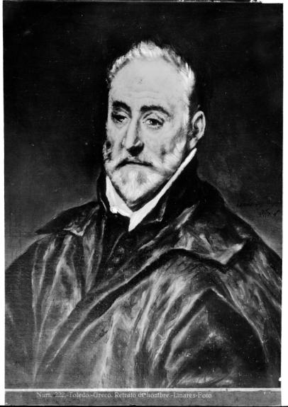 408 - Toledo - Greco - Retrato de hombre [Antonio de Covarrubias, Museo del Greco]