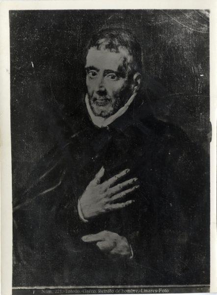 409 - Toledo - Greco - Retrato de hombre [Beato Juan de Ávila, Museo del Greco]
