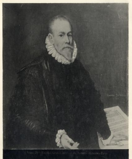 411 - Toledo - Greco - Retrato de hombre - [Retrato de D. Rodrigo de la Fuente, Museo del Prado]