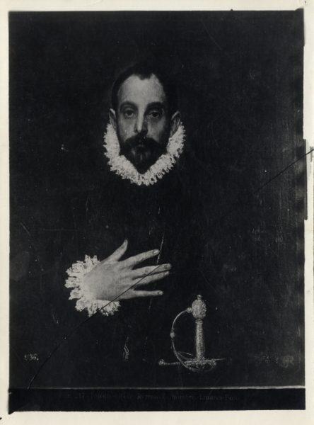 412 - Toledo - Greco - Retrato de hombre [El caballero con la mano en el pecho, Museo del Prado]