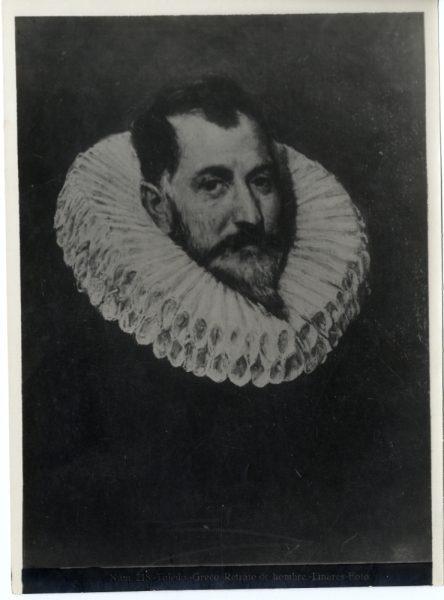 413 - Toledo - Greco - Retrato de hombre [Retrato de un caballero desconocido, Museo del Prado]
