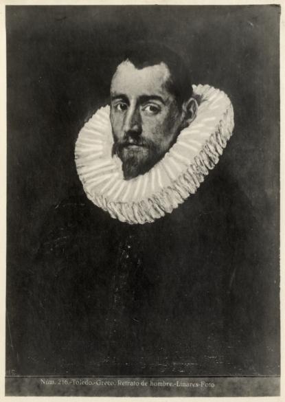 414 - Toledo - Greco - Retrato de hombre [Retrato de un caballero joven, Museo del Prado]