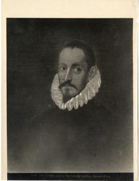 415 - Toledo - Greco - Retrato de hombre [Retrato de un caballero, Museo del Prado]
