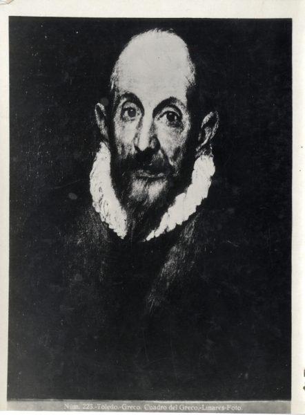 417 - Toledo - Greco - Cuadro del Greco [Retrato de un caballero anciano, Metropolitan Museum of Art]