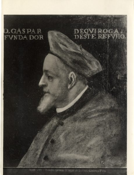 418 - Toledo - Greco - D. Gaspar de Quiroaga [sic, Quiroga]