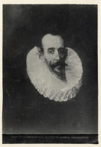419 - Toledo - Greco - Retrato de hombre