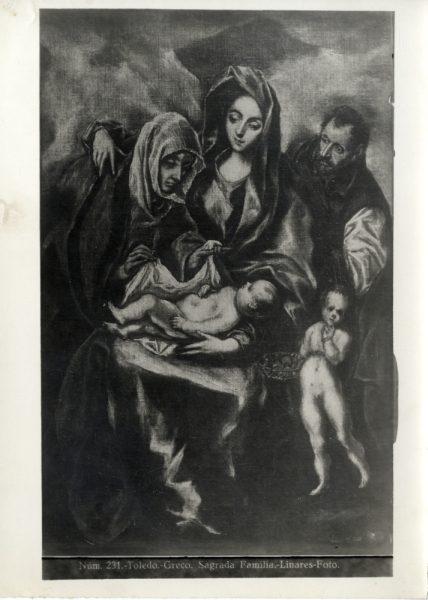 420 - Toledo - Greco - Sagrada Familia [Depósito Museo Víctor Balaguer]