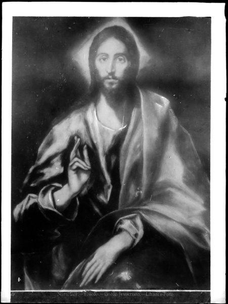 423 - Toledo Greco - Jesucristo [El Salvador, Museo del Greco]