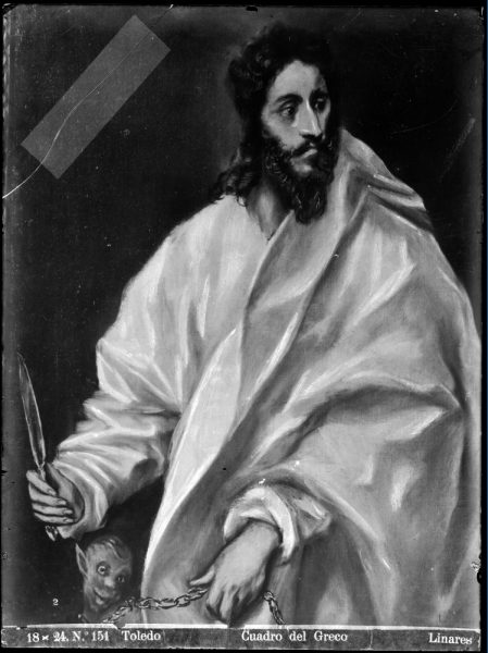 427 - Toledo - Cuadro del Greco [San Bartolomé]