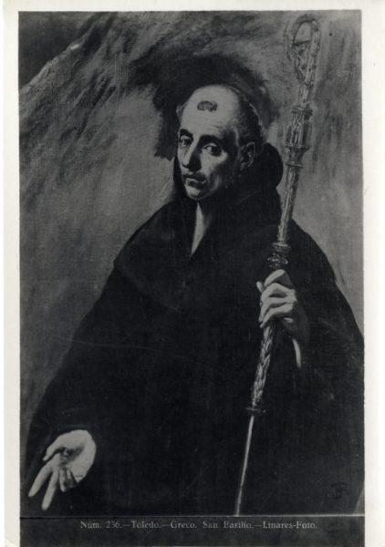 428 - Toledo - Greco - San Basilio [sic, San Benito]