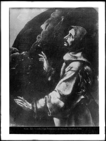 434 - Toledo - Greco - San Francisco en éxtasis [Museo del Prado]