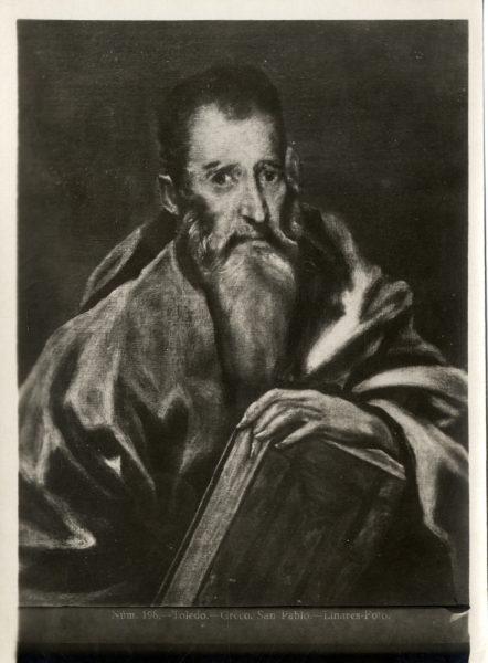 445 - Toledo - Greco - San Pablo [Museo del Prado]