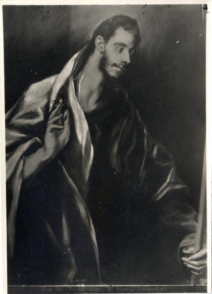 454 - Toledo - Greco - Un Apóstol [Santo Tomás, Museo del Greco]