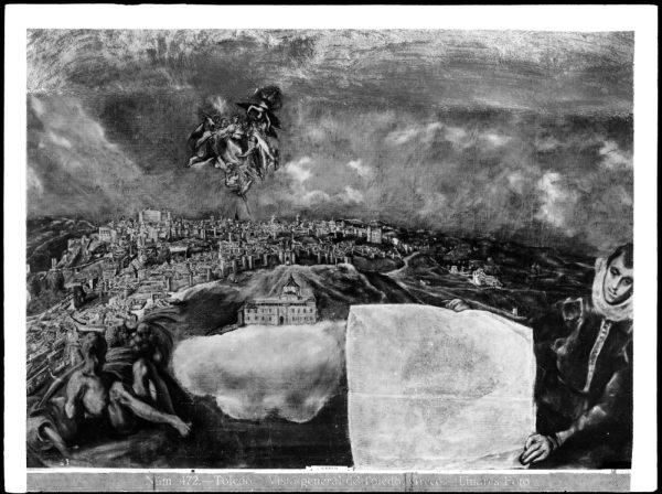 459 - Toledo - Vista general de Toledo - Greco [Museo del Greco]