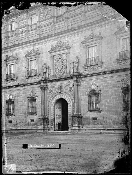 CA-0004-VI_Alcázar-Detalle de la fachada principal