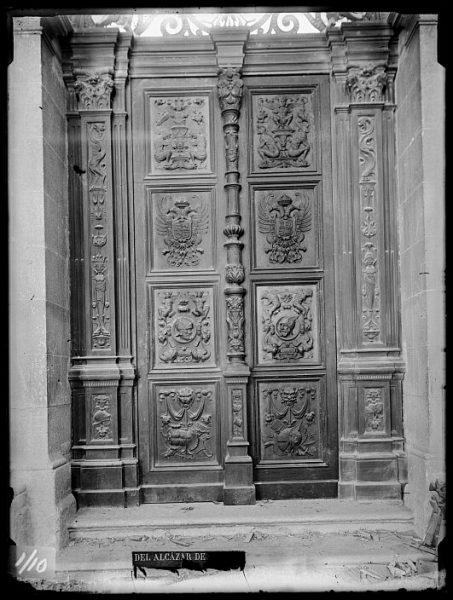 CA-0009-VI_Alcázar-Puerta interior