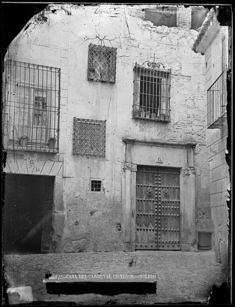 CA-0020-VI_Calle de las Bulas Casa del Cardenal Cisneros