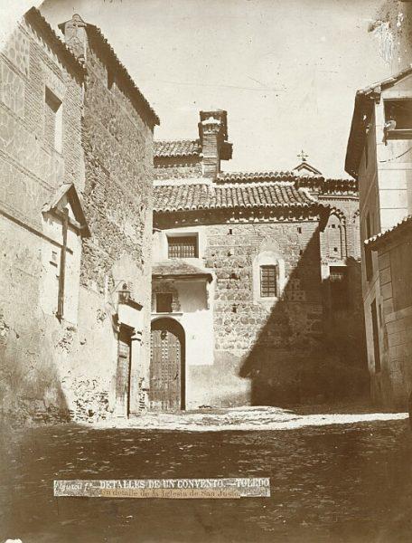 CA-0030-PA_Calle de San Juan de la Penitencia y ábside de la iglesia de San Justo