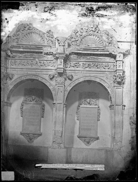 CA-0095-VI_Convento de San Pedro Mártir-Sepulcros de los condes de Melito