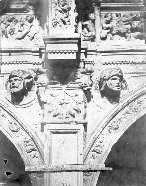 CA-0290-PA_Convento de San Pedro Mártir-Detalle del arco que enmarca el sepulcro del conde de Mélito