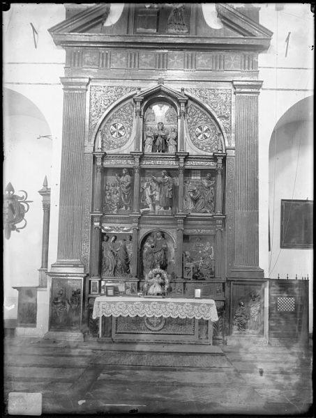CA-0311-VI_Convento de Santo Domingo el Real-Retablo