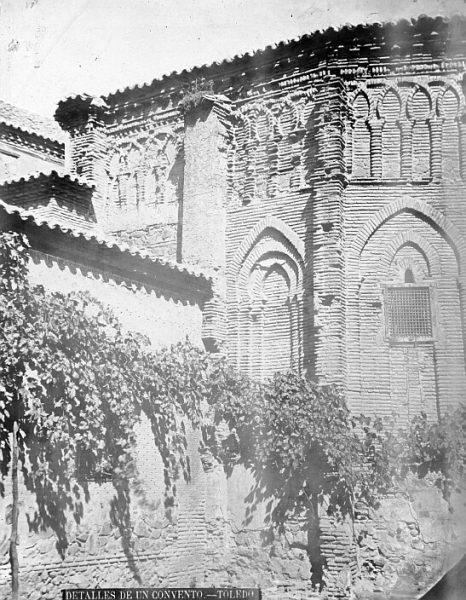 CA-0315-PA_Convento de Santa Fe-Ábside exterior de la capilla de Belén