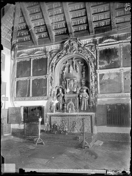 CA-0321-VI_Convento de San Juan de la Penitencia-Retablo del coro