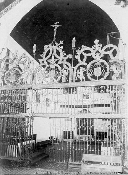 CA-0324-PA_Convento de San Juan de la Penitencia-Reja de la capilla mayor