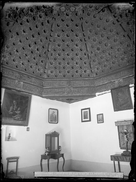 CA-0328-VI_Convento de San Juan de la Penitencia-Artesonado de una de sus salas