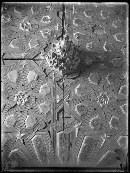 CA-0337-VI_Convento de Santa ┌rsula-Artesonado de la sacristía